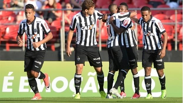 Brasileiro: Gols de São Paulo 1 x 2 Atlético-MG