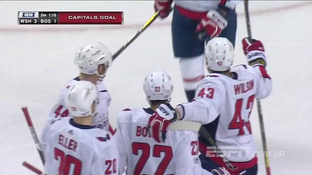 Washington Capitals vence Boston Bruins em pleno TD Garden