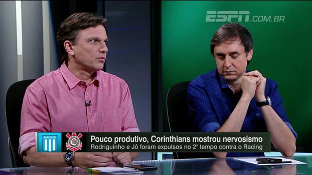 Para Mauro, Corinthians não soube sair da armadilha do 'gelado' Racing: 'Faltou repertório'