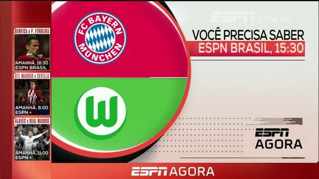 Bundesliga, golfe e MLB; veja os destaques da programação desta sexta nos canais ESPN