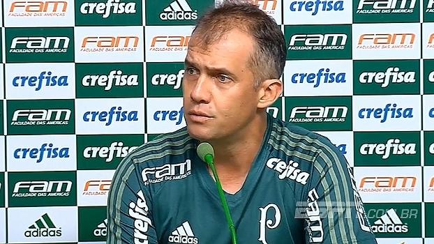 Eduardo Baptista vê Santos agressivo em casa, mas confia na boa fase do Palmeiras