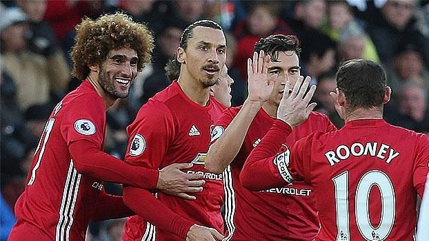 20e260a320 Confira os melhores momentos de Swansea 1 x 3 Manchester United