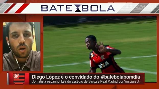 Jornalista espanhol diz que Barcelona vê Neymar como influência para contratar Vinicius Jr.