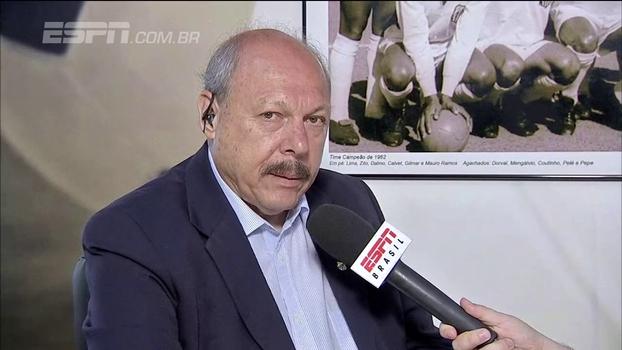 Presidente do Santos quer rever situação de Zeca, mas espera definição de diretor de futebol