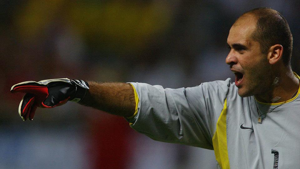 Titular, o goleiro Marcos se aposentou em 2012 e virou embaixador do Palmeiras