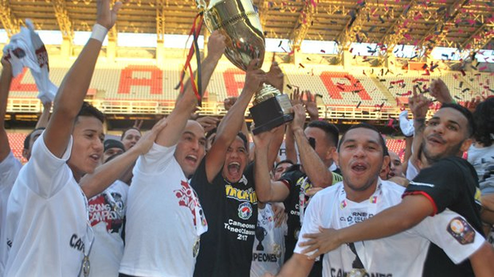 Deportivo Lara (Venezuela) - fase de grupos - vice-campeão venezuelano