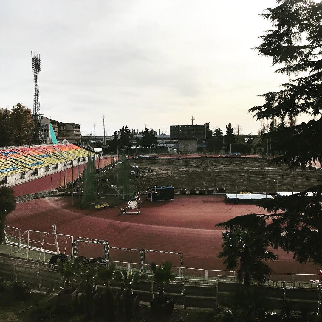 Os dois campos estão sendo reformados para a Seleção