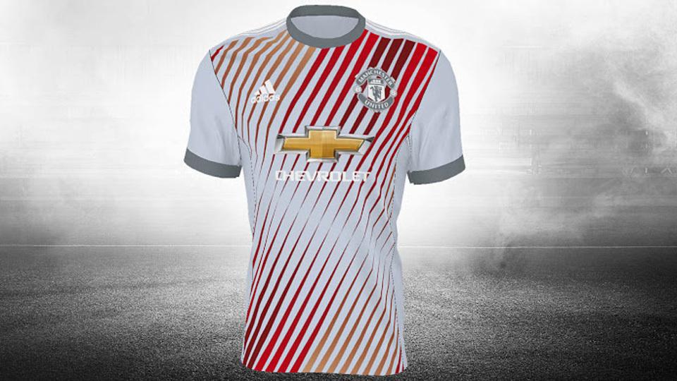 Camisa do Manchester United que não foi aprovada a6c200723863a