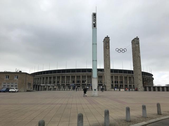 Estádio Olímpico de Berlim recebeu os Jogos em 1936
