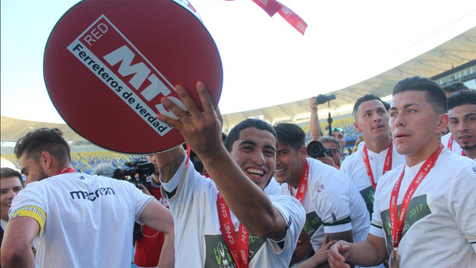 Santiago Wanderers (Chile) - 2ª fase de mata-mata - campeão da Copa do Chile