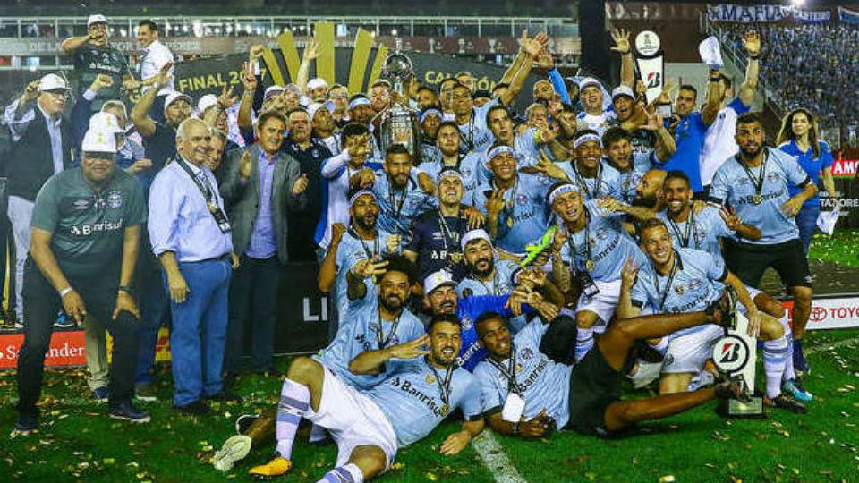 Grêmio (Brasil) - fase de grupos - campeão da Libertadores