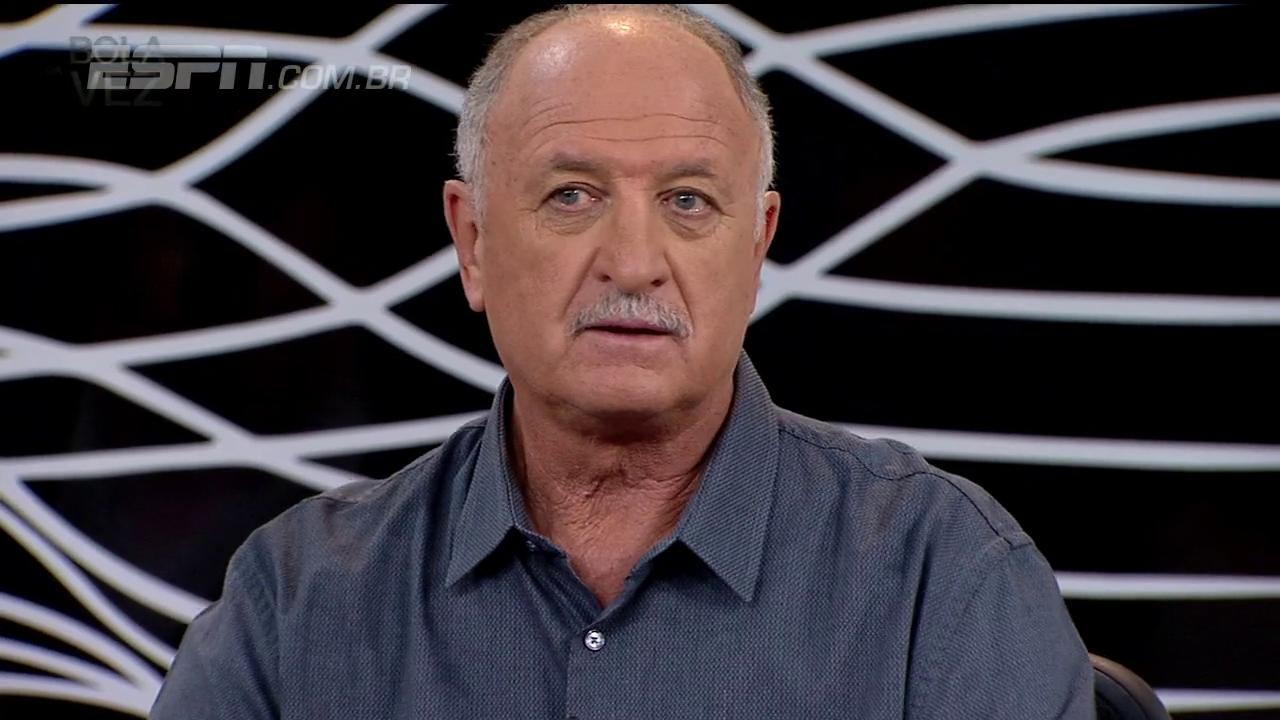 Felipão: Renato Gaúcho jogou mais que Cristiano