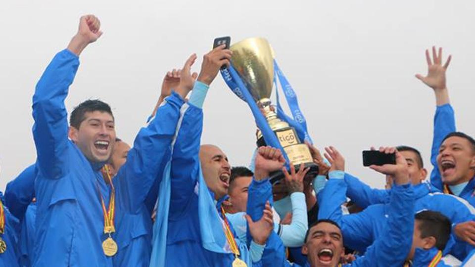 Bolívar (Bolívia) - fase de grupos - campeão do Apertura 2017 na Bolívia
