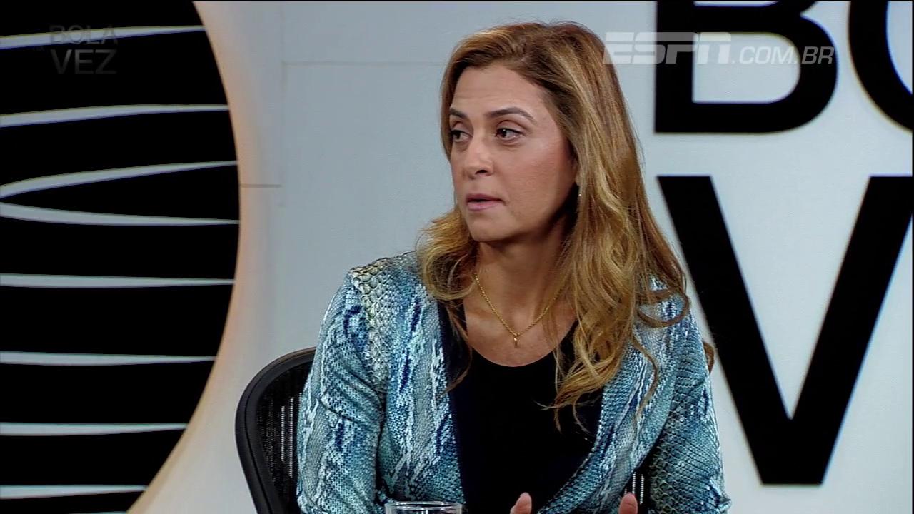 Veja o melhor de Leila Pereira no Bola da Vez