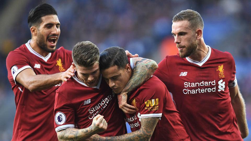 Coutinho faz o 1º após 'volta', e Liverpool se vinga
