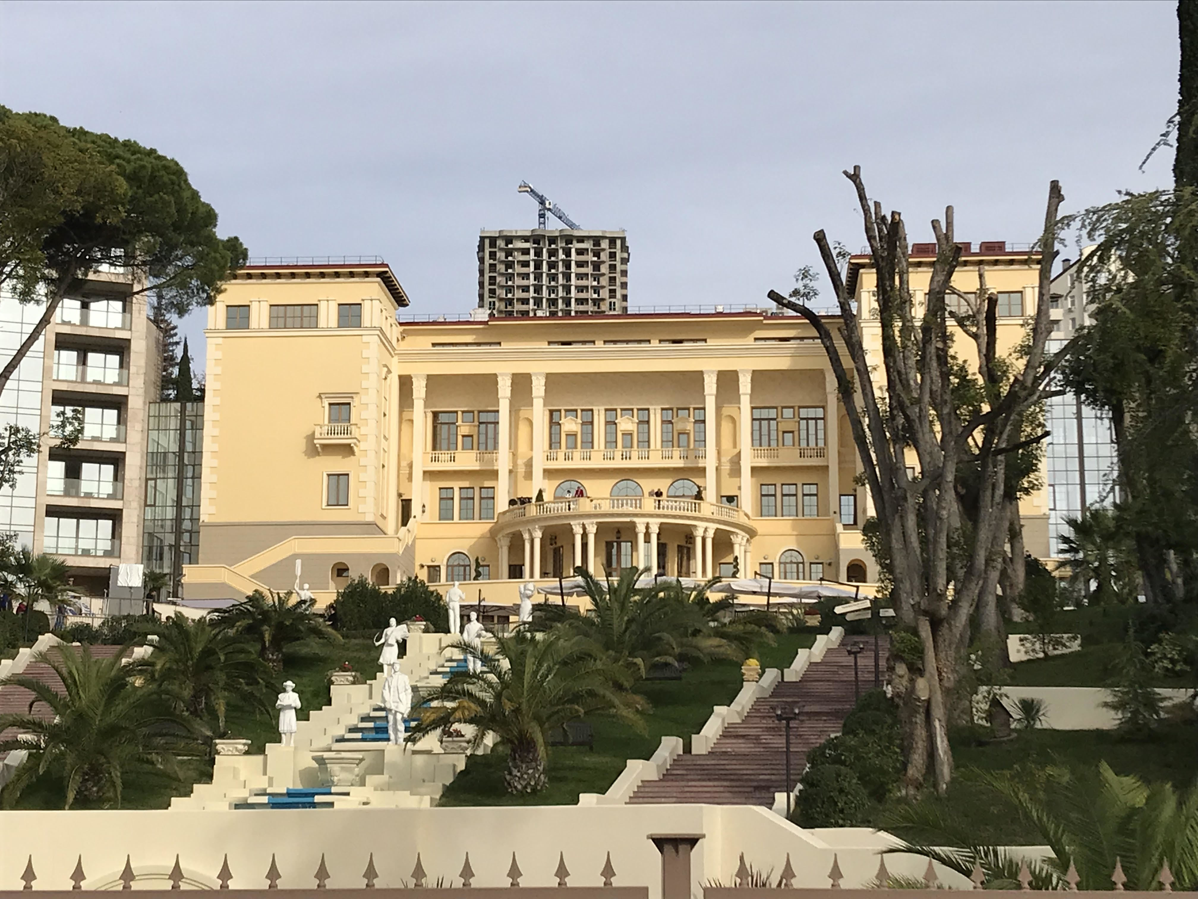 Swissotel Resort Sochi Kamelia foi escolhido pela CBF